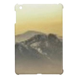 art d'horizon de montagne coques pour iPad mini
