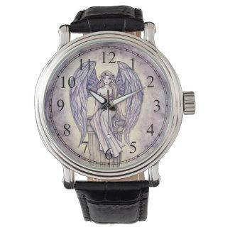 Art d'imaginaire d'ange par l'aquarium populaire montres bracelet