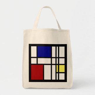 Art d'impression de Mondrian Sacs