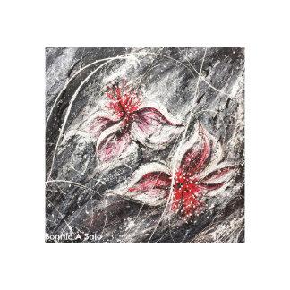 Art d'impressionisme sur la toile imprimée