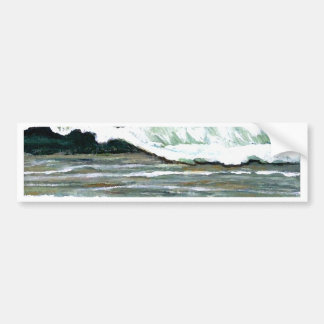 """Art d'océan de CricketDiane """"de paysage marin élég Autocollant Pour Voiture"""