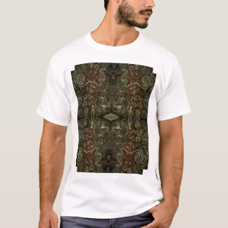 Art d'ordinateur d'AZ Glyphics 1 T-shirt