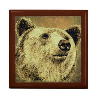 Art d'ours, boîte à bijoux