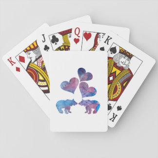 Art d'ours jeu de cartes