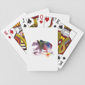 Art d'ours jeux de cartes