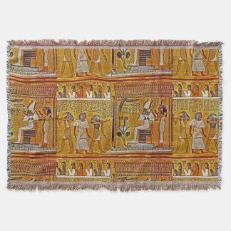 Art égyptien couvre pied de lit