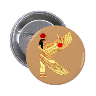 Art égyptien de mur badge