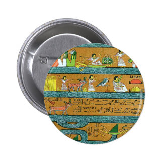 Art égyptien de mur pin's avec agrafe
