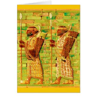 Art égyptien de mur cartes