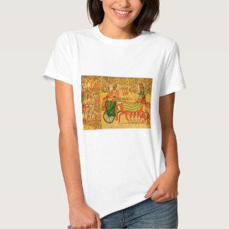 Art égyptien de mur t-shirt