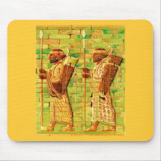Art égyptien de mur tapis de souris