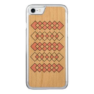 Art en bois de caisse de cerise mince de l'iPhone Coque En Bois iPhone 7