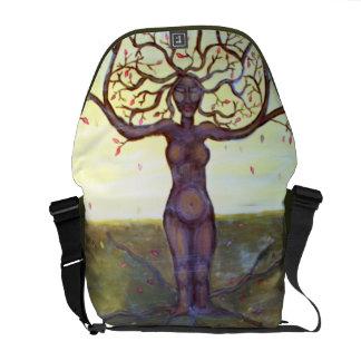 """Art """"enraciné"""" d'imaginaire de déesse d'arbre sacoches"""