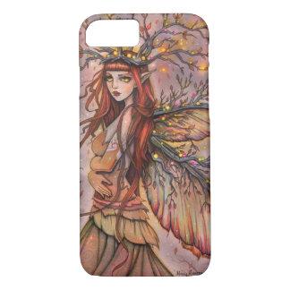 Art féerique d'imaginaire de la Reine d'automne Coque iPhone 7