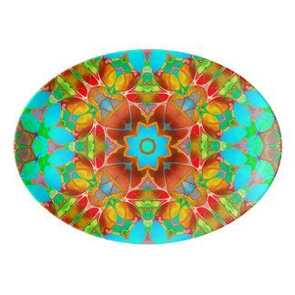 Art floral G410 de fractale de plateau