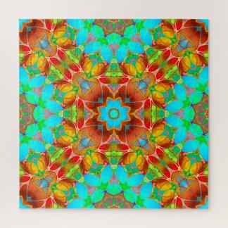 Art floral G410 de fractale de puzzle