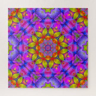 Art floral G445 de fractale de puzzle