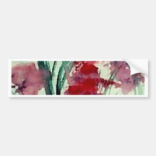 Art floral moderne de CricketDiane Autocollants Pour Voiture