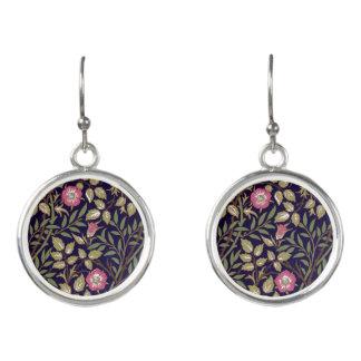 Art floral Nouveau de Briar doux de William Morris Boucles D'oreilles