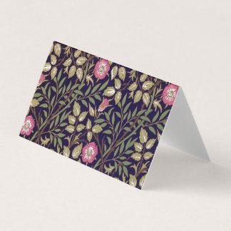 Art floral Nouveau de Briar doux de William Morris Carte De Visite
