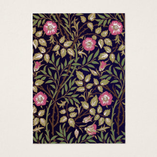 Art floral Nouveau de Briar doux de William Morris Cartes De Visite