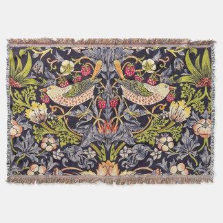 Art floral Nouveau de voleur de fraise de William Couverture