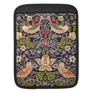 Art floral Nouveau de voleur de fraise de William Housse iPad
