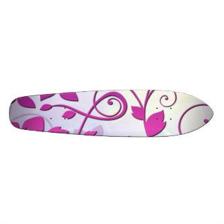 Art floral skateboard