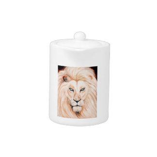 Art fort d'huile de portrait de lion
