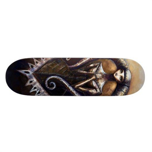 Art gothique de planche à roulettes planches à roulettes customisées