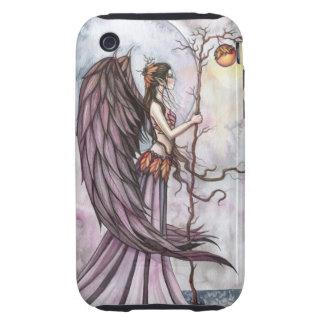 Art gothique léger de fée d'imaginaire d'automne coques tough iPhone 3