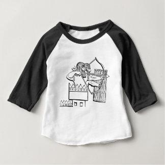 Art grec de guerrier t-shirt pour bébé