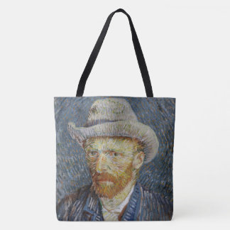 Art gris de chapeau de feutre d'autoportrait de