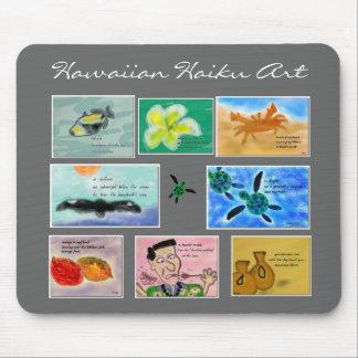 Art hawaïen Mousepad de Haiku Tapis De Souris