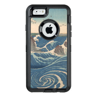 art japonais de woodprint de tourbillon de naruto coque OtterBox iPhone 6/6s