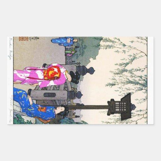 Art japonais pour aquarelle oriental frais de Yosh Adhésifs