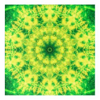 Art jaune et vert