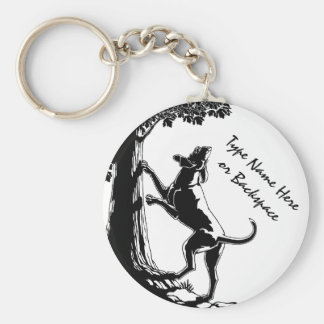 Art Keychains de chien de chasse de Keychain de ch Porte-clé
