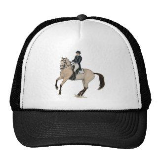 Art magnifique de cheval de dressage de peau de da casquette de camionneur