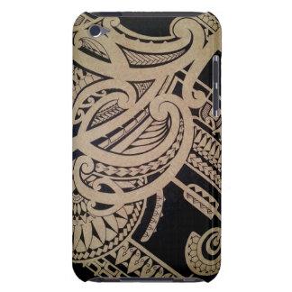 Art maori de tatouage dans le style tribal mélangé étuis barely there iPod