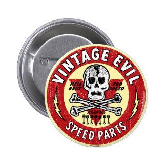 Art mauvais vintage 001 de nez badge rond 5 cm