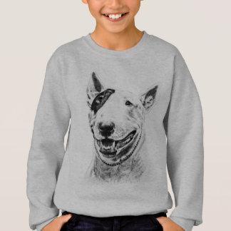 Art mignon de chien de bull-terrier sweatshirt