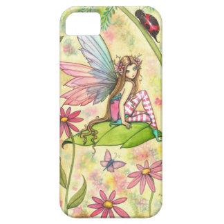 Art mignon d'imaginaire de fée et de coccinelle coques iPhone 5