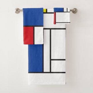 Art moderne coloré minimaliste de Mondrian de