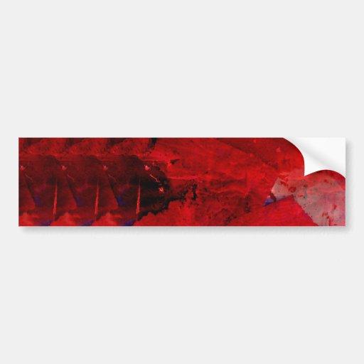 Art moderne de peinture d 39 abr g sur rouge adh sif pour - Peinture resistant al eau ...