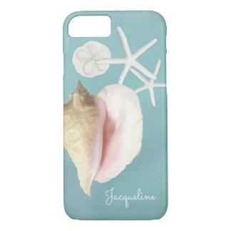 Art moderne élégant d'étoiles de mer de Shell de Coque iPhone 7
