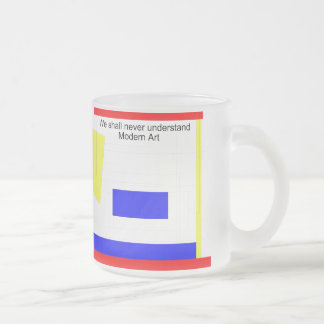 Art moderne mug à café