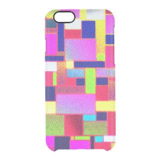Art multicolore de briques, coque iPhone 6/6S