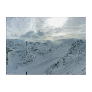 Art Mural En Acrylique Alpes français
