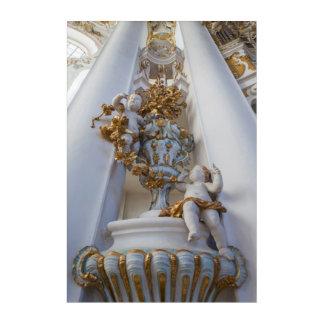Art Mural En Acrylique Anges dans l'église de Wieskirche